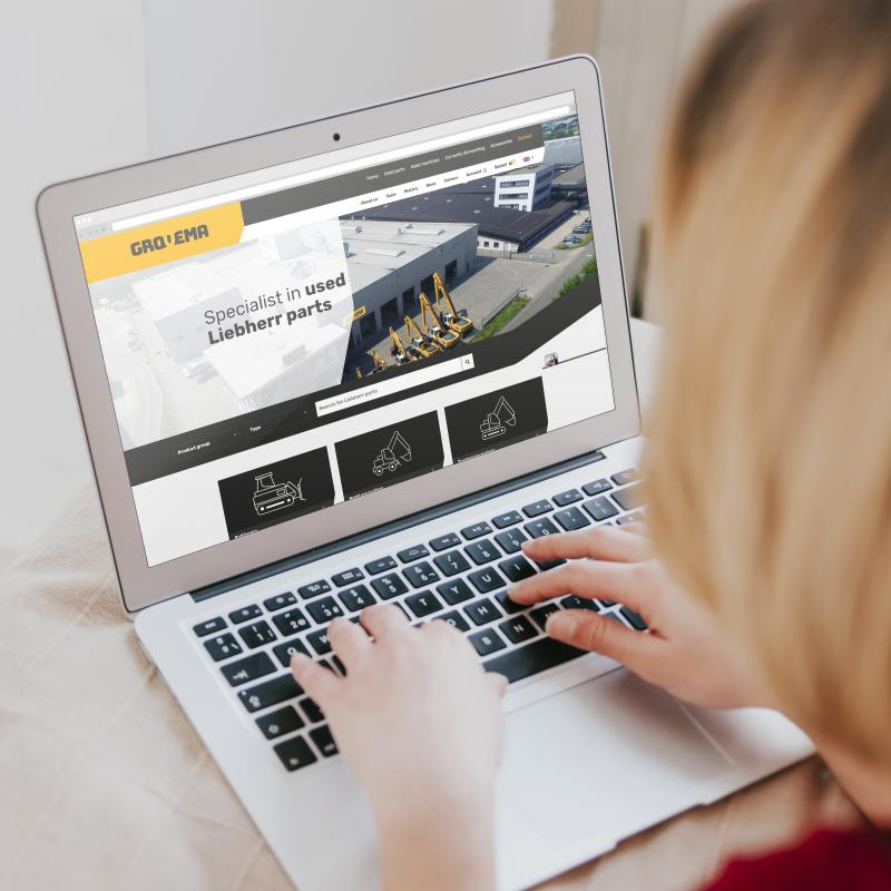 5 functionalities of our online shop that will help you find your Liebherr parts even quicker