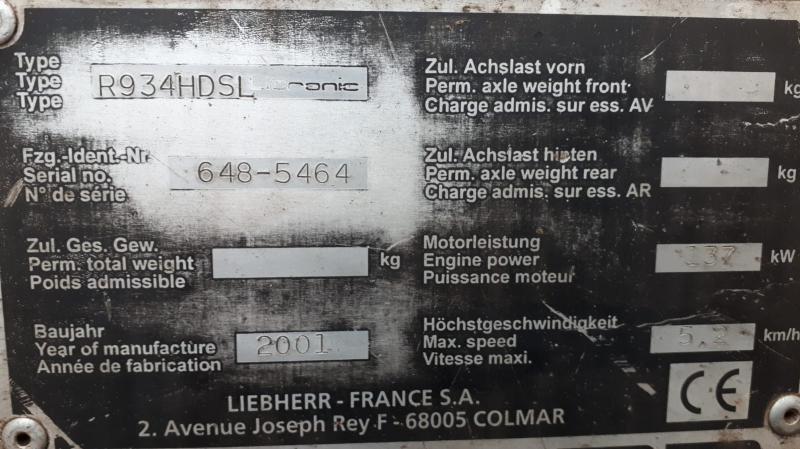 Liebherr R934