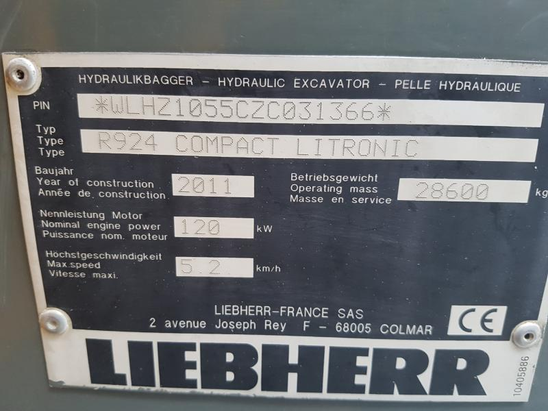 Liebherr R924 COMPACT