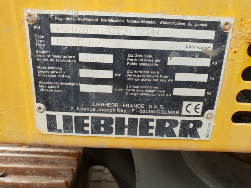 Liebherr R924 B